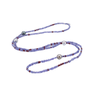 Purple Red River Necklace image