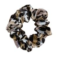 Organic Premium Silk Scrunchie - Camo image
