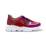 Palmer Sneaker in Pink Multi image
