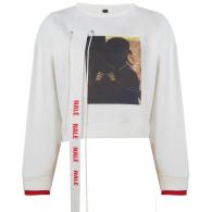 Cream Nalè Ode To Home Ii Asymmetric Sweater & Jogger Set image