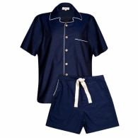 Navy Genderless Short Pyjama Set image
