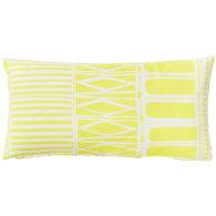Merdia Geometric cushion - Yellow & Orange image
