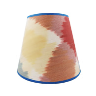 Lemon Solitaire Silk Card Conical Lampshade image