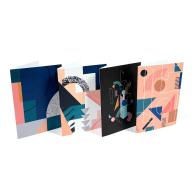 Geometric 4 Card Pack image