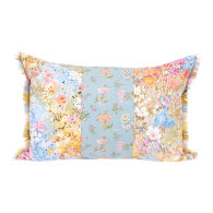 Impressionist Florals Oblong Cushion image