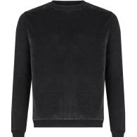 Black Cotton Cashmere Sweater image