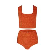 India Sustain Bikini - Tiger Orange image
