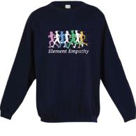 Empathy Runner Sweatshirt  (Blue) image