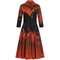 Flame Print Shirtdress image
