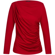Draped Shirt - Red image