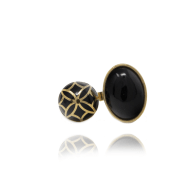 Signature Sphere Onyx Resin Ring image