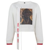 Cream Nalè Ode To Home Iii Asymmetric Sweater & Jogger Set image