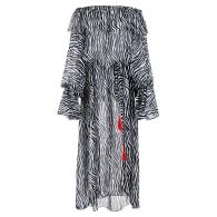 Zebra Maxi Dress image
