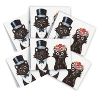 Lord & Lady Cards Pack Of 6 image