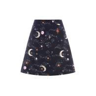 The Mini-A Skirt | Himmel Navy image
