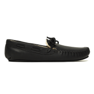 The Women's Cozy Moccasin - Black image