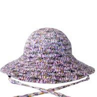 Abstract Purple Sunhat image
