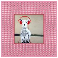 Lulu Loves Music Silk Scarf - 90 X 90 cm image