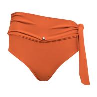 Lydia High-Waisted Belt Bikini Bottom image