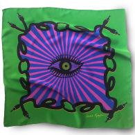 green eyed spy (55cm x 55cm) image
