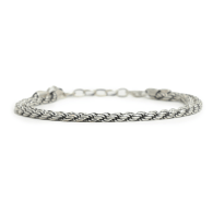 Silver Rope Bracelet image
