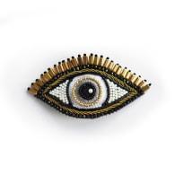 Large Open Eye Barrette image