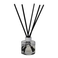 Ignite Oud & Geranium Eco Luxury Reed Diffuser Chrome image