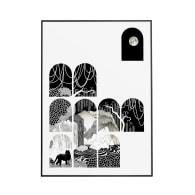 Peeking Through - Signed Art Print A2 image