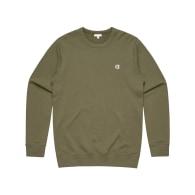 Khaki Crew Neck Sweatshirt image