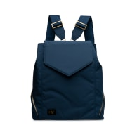 Navy Nylon Professional Backpack Tote image