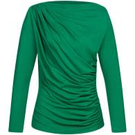 Draped Shirt - Green image