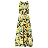 Audrey Happy Floral Midi Dress image
