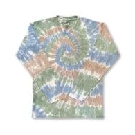 Agonda Long Sleeves Tie Dye T-Shirt Forest image