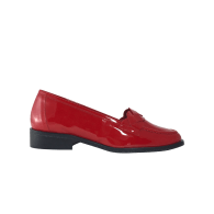 Brigitte - Red Patent Leather Loafers image