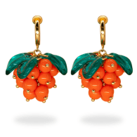 Cloudberry Cute Clip-On Earrings image