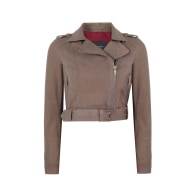 Taupe Suede Classic Jacket image
