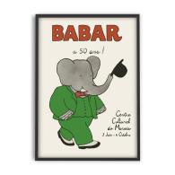 Babar Artwork Print 50cm x 70cm image