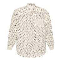 Flannel Silk Polka Dot Shirt image