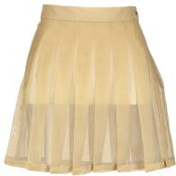 Sheer Skirt White image