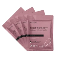 BeautyPro Foot Therapy Collagen Infused Bootie With Removable Toe Tip - pack of 4 image