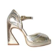 Lillita Heels - Gold/Silver image