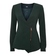 Sakiya Blazer With Front Zipper Pine Grove image