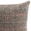 Sea Campion Beige & Peach Herringbone Harris Tweed Cushion image