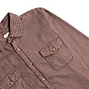 Houndstooth Over Shirt - Red image
