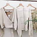 Cashmere Recycled Reversible Top Neutral image