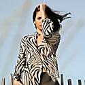 Zebra Silk Blouse image