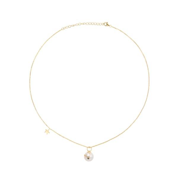 Eshvi Pearl Necklace