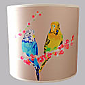 Loving Budgies Lampshade image