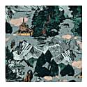Razor Scarf Le Mont Saint Michel Print image