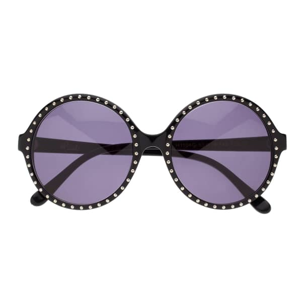 HEIDI LONDON Round Frame Sunglasses
